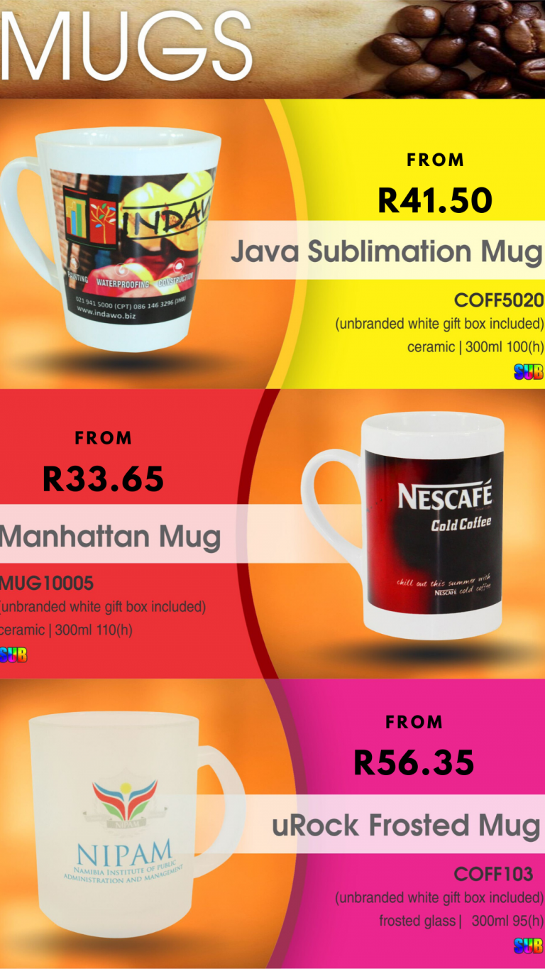 Year End Gifting Idea | Branded Sublimation Mugs