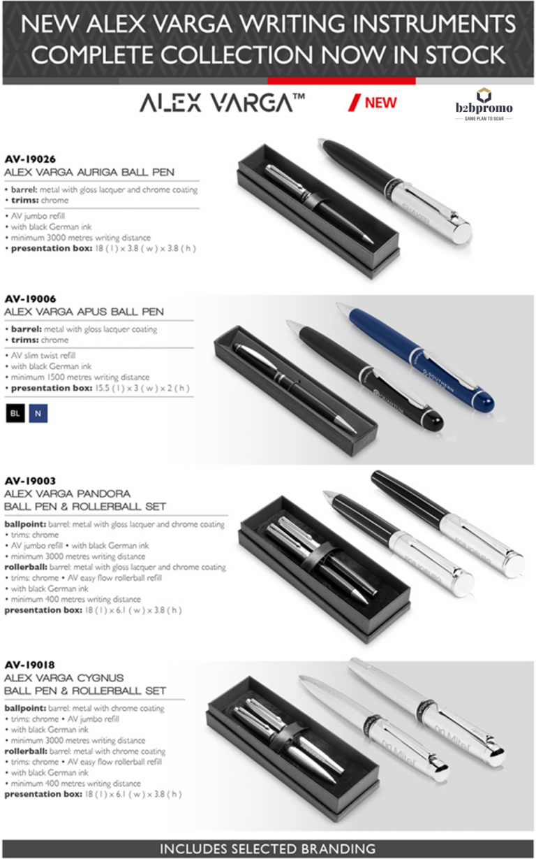 Alex Varga Pen Sets
