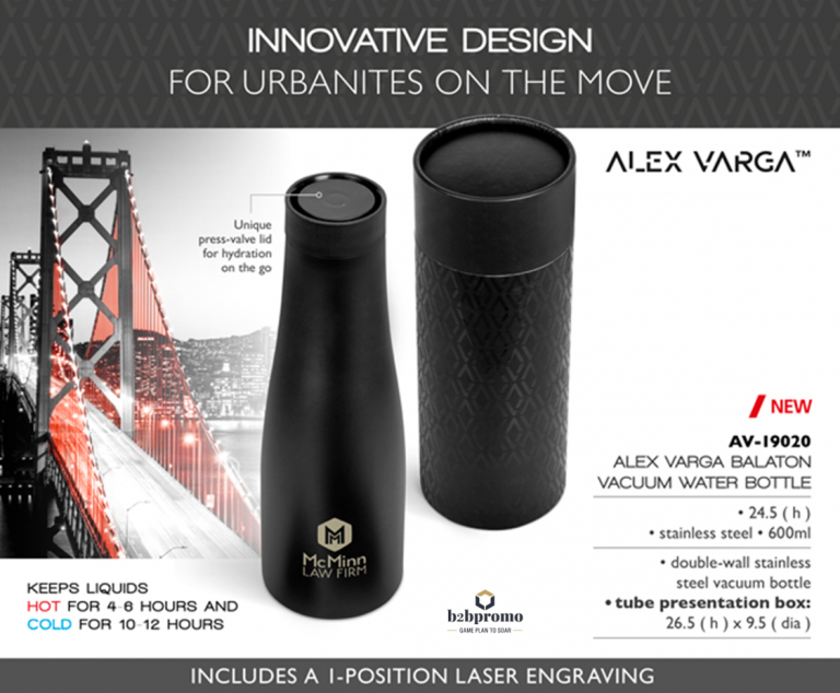 Alex Varga Water Bottle