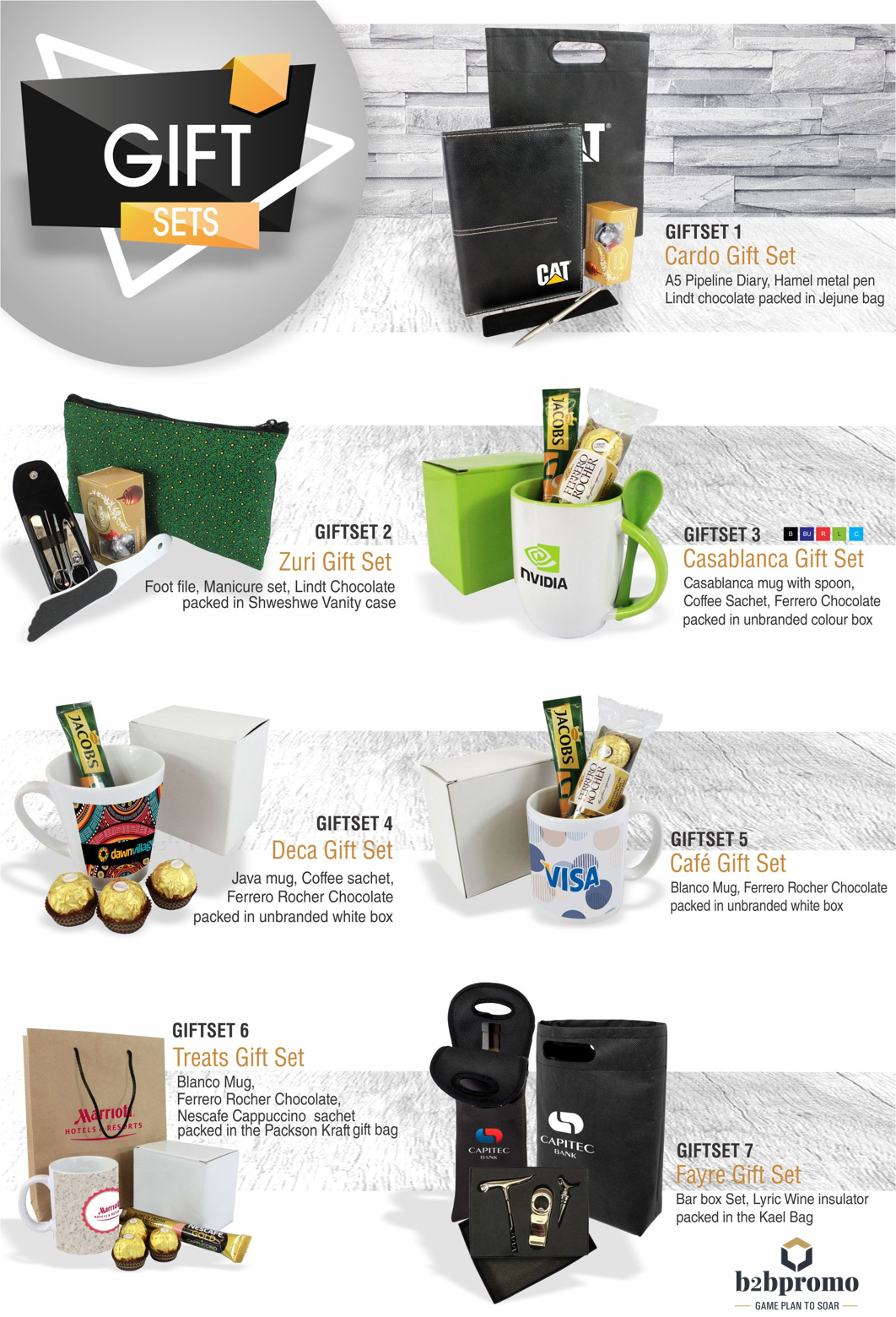 Delicious year end gifts sets your clients are sure to remember