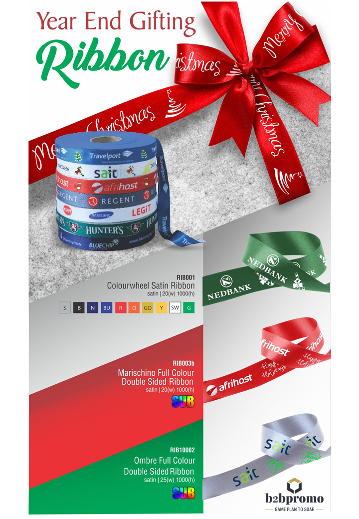 Decorative Festive Ribbons